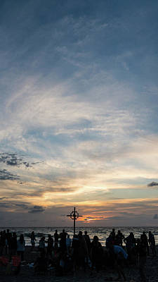 Photograph - Easter Sunrise Delray Beach Florida by Lawrence S Richardson Jr