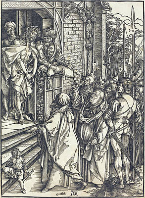 Drawing - Ecce Homo by Albrecht Durer