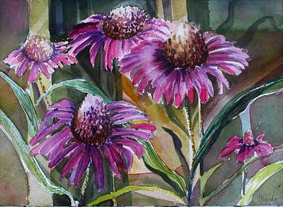 Painting - Echinacea by Mindy Newman