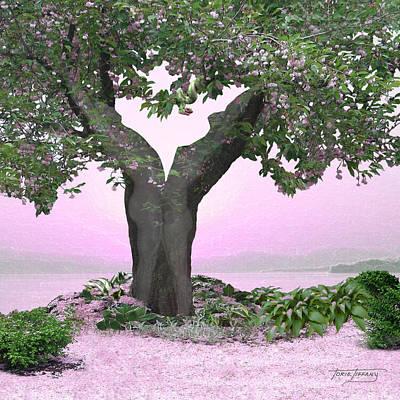 Floral Digital Art Digital Art - Eden by Torie Tiffany