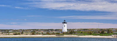 Photograph - Edgartown Light by Walter Rowe