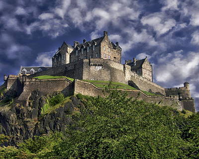 Photograph - Edinburgh Castle by Anthony Dezenzio