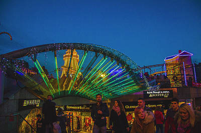 Photograph - Edinburgh Winter Market by Edyta K Photography