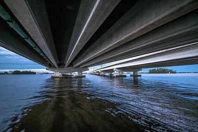 Architecture Photograph - Edison Bridge by Michael Frizzell