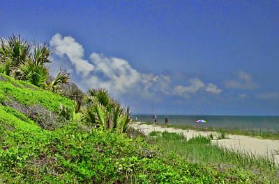 Photograph - Edisto Beach by Allen Beatty