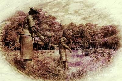 Mixed Media - Edisto Memorial Gardens by Bob Pardue