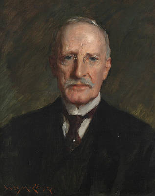 Kennedy Painting - Edward Guthrie Kennedy by William Merritt Chase