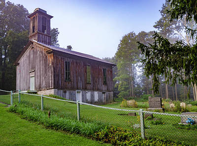 Photograph - Egg Hill Church by R Thomas Berner