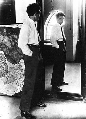 Photograph - Egon Schiele (1890-1918) by Granger