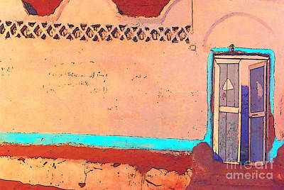Photograph - Egypt Nubian Village by Lisa Dunn