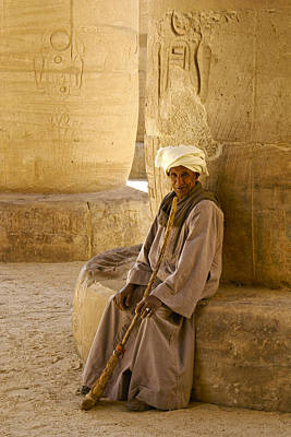 Photograph - Egyptian Caretaker by Michele Burgess