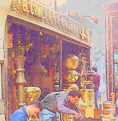 Photograph - Egyptian Market by Lisa Dunn