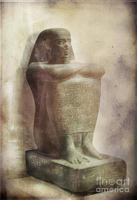 Egyptian Pharaoh. Art Print