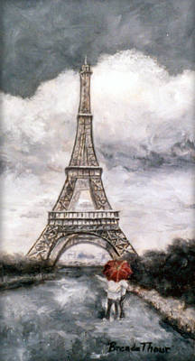 Painting - Eiffel Tower by Brenda Thour