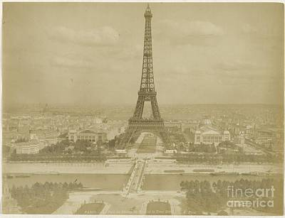 Photograph - Eiffel Tower by Celestial Images