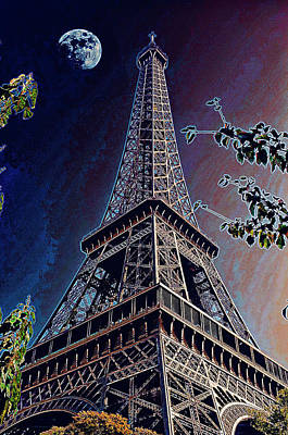 Photograph - Eiffel Tower by Hugh Smith