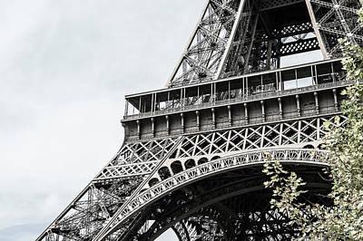 Photograph - Eiffel Tower II by Helen Northcott