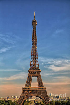 Photograph - Eiffel Tower In France by Patricia Hofmeester