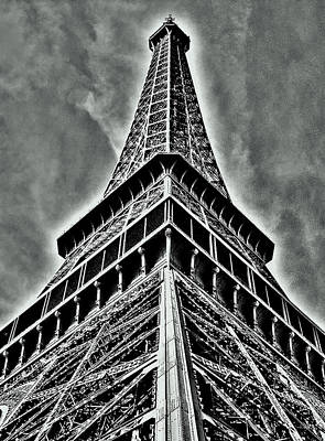 Eiffel Tower Art Print by Juergen Weiss