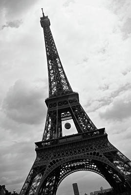 Photograph - Eiffel Tower - Paris by RayZa Photography