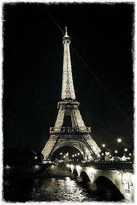 Photograph - Eiffel Tower by Pawel Dobrowolski
