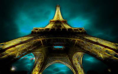 Albert Bierstadt - Eiffel Tower by Galeria Trompiz