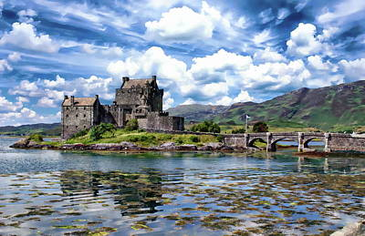 Photograph - Eilean Donan Castle by Anthony Dezenzio