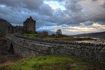 Eilean Donan Castle In The Morning Light Art Print by Jim Dohms