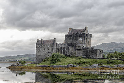 Photograph - Eilean Donan Castle by Pietro Ebner
