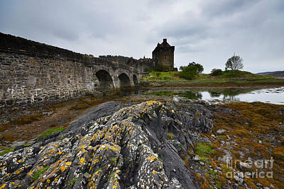 Scottish Highlands Wall Art - Photograph - Eilean Donan Castle by Smart Aviation