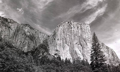 Photograph - El Capitan And The Wall Of Granite by John M Bailey