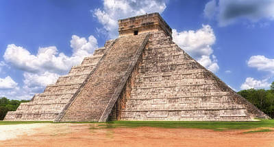 Photograph - El Castillo by Wes Jimerson