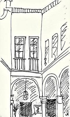 Drawing - El Puerto De Santa Maria by Chani Demuijlder