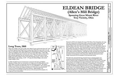 Music Royalty-Free and Rights-Managed Images - Eldean  Covered Bridge by Jack R Perry