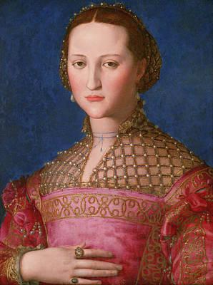 Royal Painting - Eleonora Of Toledo by Bronzino