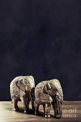 Hammer Photograph - Elephant Figures by Amanda Elwell