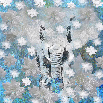 Painting - Elephant by Saundra Myles