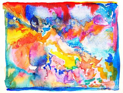 Painting - Eleven by Expressionistart studio Priscilla Batzell