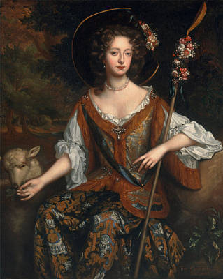 Painting - Elizabeth Jones Countess Of Kildare  by Willem Wissing