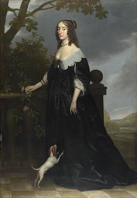 Bohemia Digital Art - Elizabeth Stuart Queen Of Bohemia by Gerrit van Honthorst