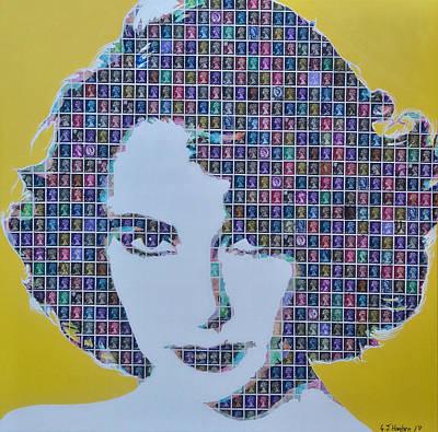 Elizabeth Taylor Mixed Media - Elizabeth Taylor by Gary Hogben