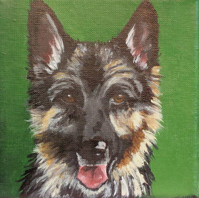 Painting - Ellie by Carol Russell
