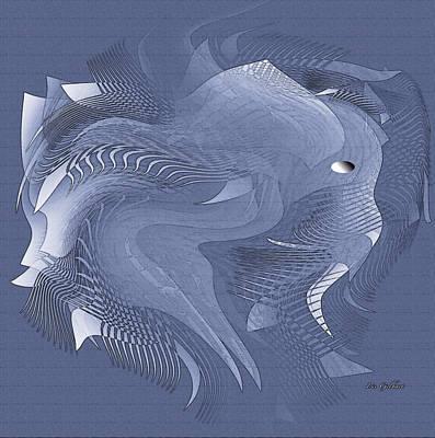 Digital Art - Elly by Iris Gelbart