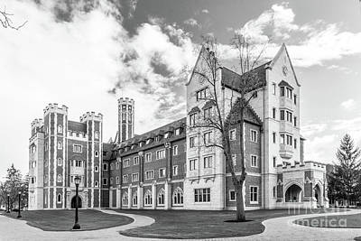 Diploma Photograph - Elmira College Meier Hall by University Icons