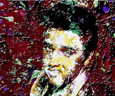 Memphis Artist Mixed Media - Elvis 3c by Brian Reaves
