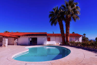 Photograph - Elvis Presley's Palm Springs Home by Library Of Congress