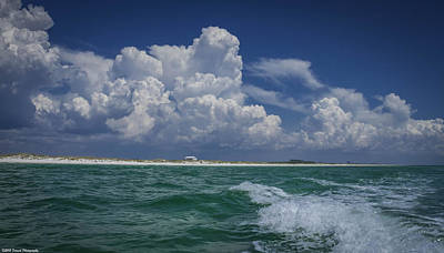 Photograph - Emerald Coast 2 by Debra Forand
