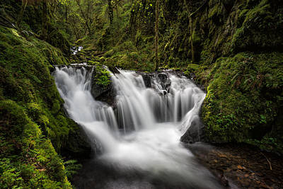 Photograph - Emerald Falls by Brian Bonham