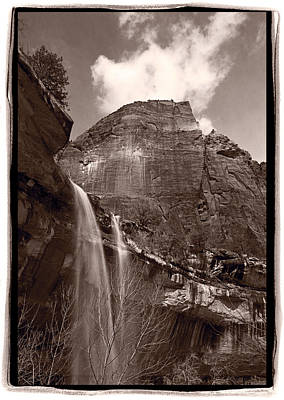 Emerald Pools Falls Zion National Park Original