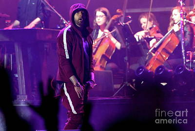 Eminem Photograph - Eminem by Concert Photos